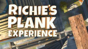 Richie's Plank är spelet där du känner vr med hela kroppen!