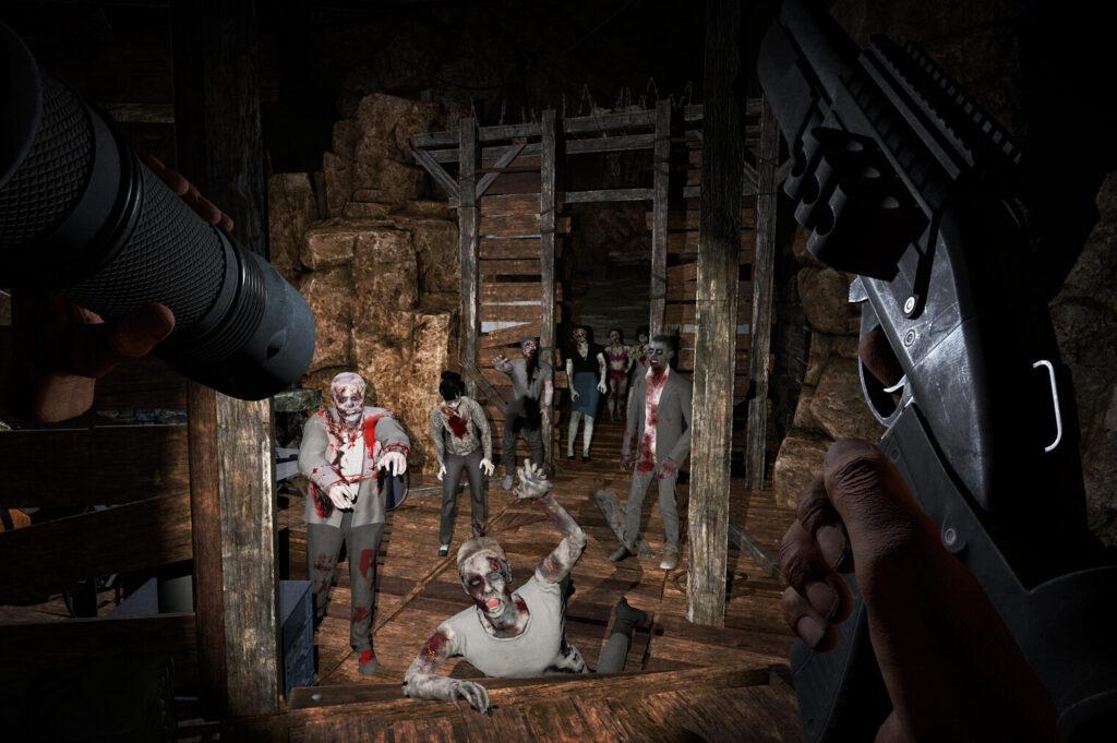 Zombiespel i VR: Perfekt för Halloween!