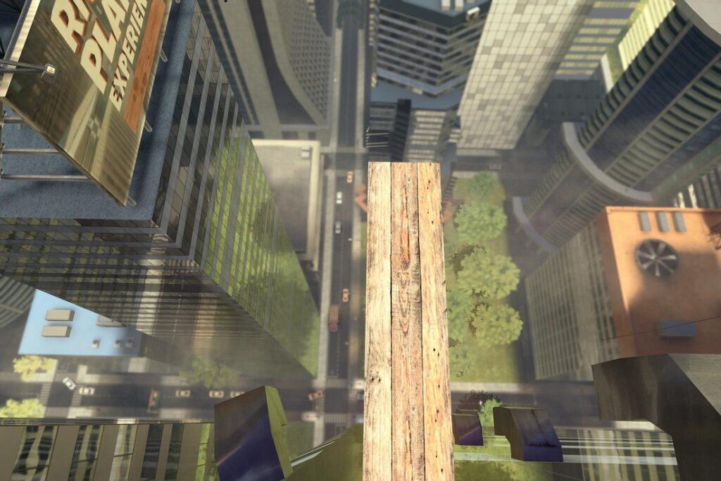 Plankan i VR. Utmana din höjdrädsla!